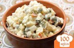 Фото рецепта: «Вкусный салат из говядины»