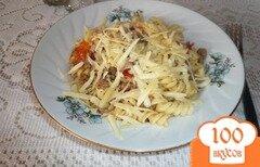 Фото рецепта: «Макароны с мясным соусом»