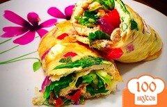 Фото рецепта: «Овощной омлет диетический»