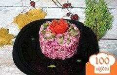 Фото рецепта: «Свекольный деревенский салат»