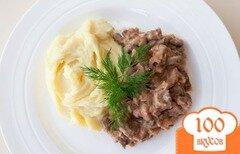 Фото рецепта: «Классический бефстроганов из говядины»