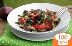 Фото рецепта: «Баклажаны со сливами»