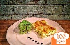 """Фото рецепта: «Каннеллони """"Сицилийский акцент!"""" под сметанным соусом.»"""