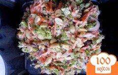 Фото рецепта: «Салат из брокколи оригинальный»
