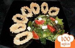 Фото рецепта: «Кальмары в панировке»