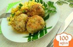 Фото рецепта: «Куриные тефтели под грибным соусом»