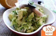 Фото рецепта: «Тартар из сельди с авокадо»