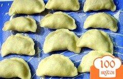 Фото рецепта: «Вареники с квашеной капустой»