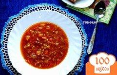 Фото рецепта: «Чечевичная похлебка с тыквой из мультиварки»