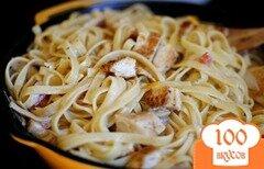 Фото рецепта: «Паста с куриными грудками в каджунском соусе»