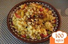 Фото рецепта: «Пшенная каша томленая в духовке с яблоком»