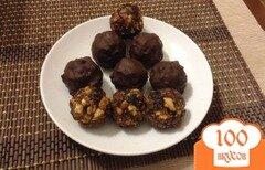Фото рецепта: «полезные конфеты из сухофруктов»