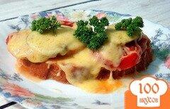 Фото рецепта: «Горячий бутерброд»