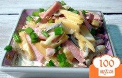 Фото рецепта: «Салат с колбасой»