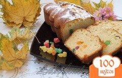 Фото рецепта: «Йогуртовый кекс с цукатами»