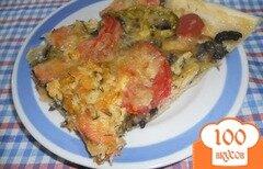 Фото рецепта: «Пицца с жареными грибами»