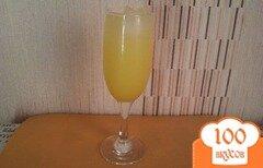 Фото рецепта: «Лёгкий коктейль с ликёром Лимончелло»