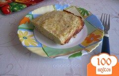 Фото рецепта: «Куриная запеканка с рисом и кабачками»