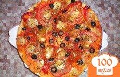 Фото рецепта: «Пицца с моцареллой»