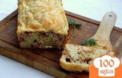 Фото рецепта: «Заливной кекс с мясом»