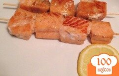 Фото рецепта: «Шашлычки из семги»