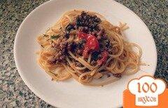 Фото рецепта: «Паста с фаршем и томатами»