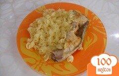 Фото рецепта: «Запеченная рыбка в фольге»