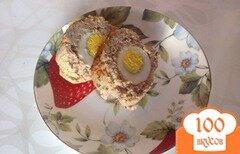 Фото рецепта: «Рулет из фарша с яйцом»