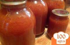 Фото рецепта: «Томатный сок на зиму»