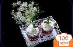 Фото рецепта: «Кисель из овсяных хлопьев и вишни»