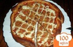 Фото рецепта: «Пицца с жаренным луком»
