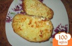 Фото рецепта: «Гренки с яйцом и плавленым сыром»