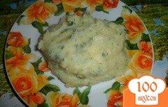 Фото рецепта: «Карофельное пюре с зеленью»