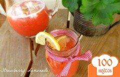 Фото рецепта: «Клубничный лимонад»