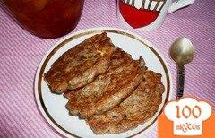 Фото рецепта: «Овсяные оладушки с льняной мукой»