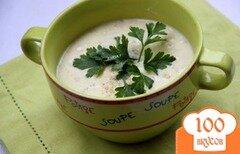 Фото рецепта: «Кабачковый сливочный суп с овсяными хлопьями»