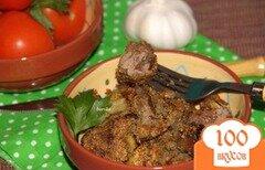 Фото рецепта: «Печень жареная в маринаде»