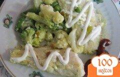 Фото рецепта: «Гренадер с овощами»