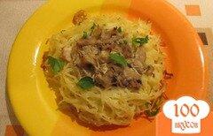 Фото рецепта: «Гнезда из спагетти»