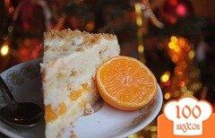 Фото рецепта: «Мандариновый торт»