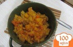 Фото рецепта: «Баклажаны тушенные с овощами по-селенски»