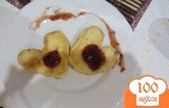 Фото рецепта: «Творожные сердечки с ванилью»