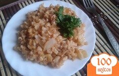 Фото рецепта: «Аппетитные спагети с килькой в томате»