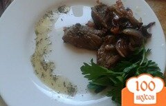 Фото рецепта: «Говядина со сливами и средиземноморскими травами»