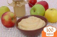 Фото рецепта: «Нежное яблочное пюре со сгущенным молоком»