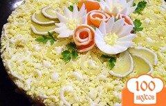 Фото рецепта: «Рыбный салат с хеком»