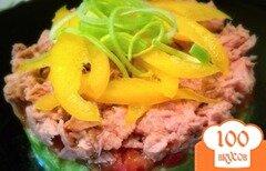 Фото рецепта: «Тимбал из тунца и авокадо»