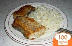 Фото рецепта: «Гарнир из риса с яйцом и сливочным маслом»