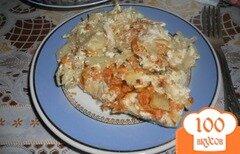 Фото рецепта: «Рыба, запеченная с овощами»