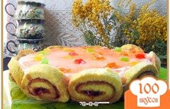 """Фото рецепта: «Торт """"Завитушка""""»"""